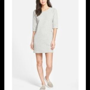 Kut from The Kloth Gray Quilted Trinity Dress Size 8